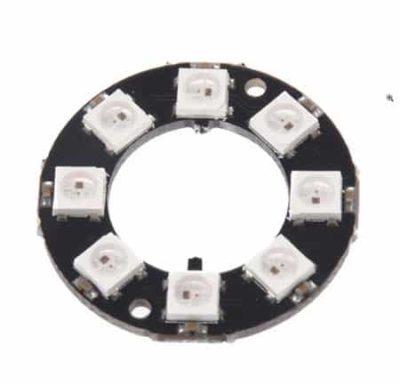 8 Bit RGB LED Ring vorne