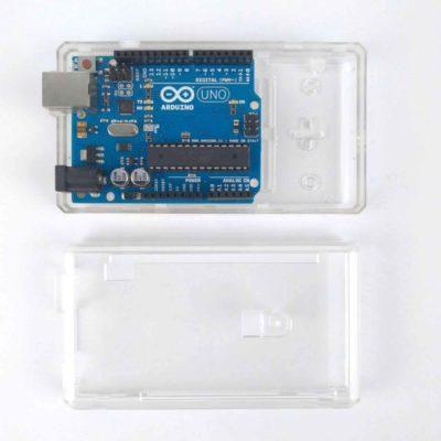 Boîtier ABS Arduino Mega Transparent
