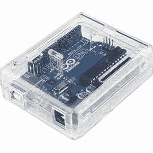 ABS Behuizing Arduino Uno Transparant