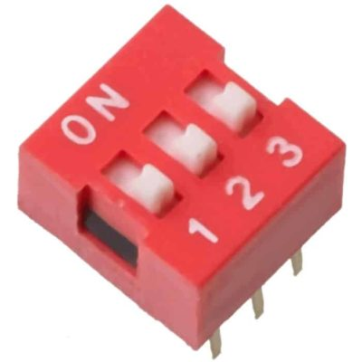 DIP Switch 3 switches