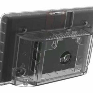 Raspberry Pi 4 7 inch display behuizing Transparant achterkant