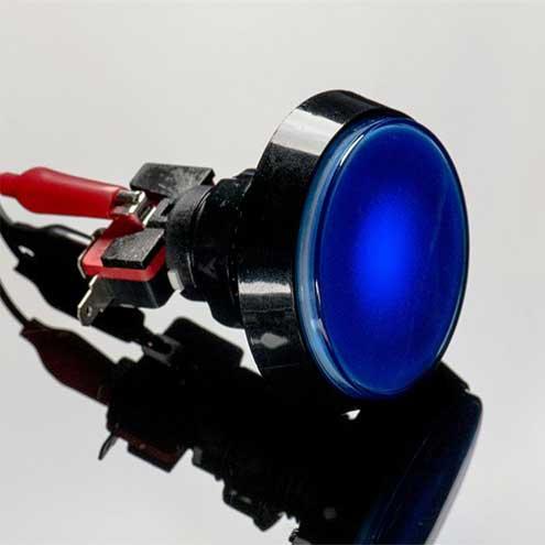 arcade knop 60mm Blauw