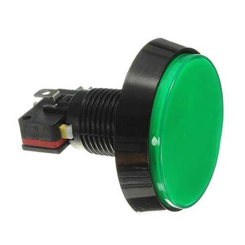 arcade knop 60mm Groen