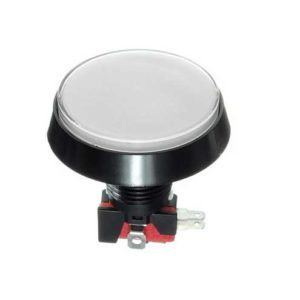 arcade knop 60mm wit