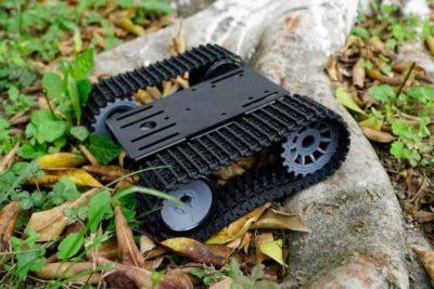 Black Gladiator outdoor robot