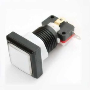 30mm Arcade pushbutton met LED