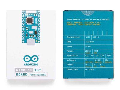 Arduino Nano 33 IoT verpakking