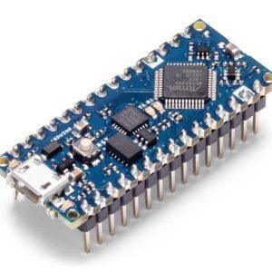 Arduino Nano Every board met headers