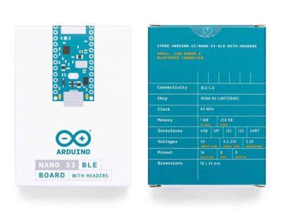 Arduino Nano 33 BLE Verpackung