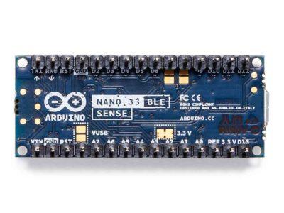 Arduino Nano 33 BLE Sense bottom