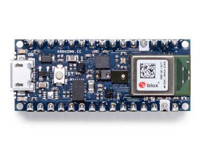 Arduino Nano 33 BLE Sense top