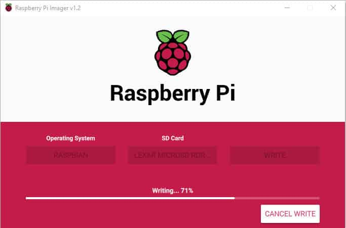 Nieuwe Raspberry Pi Imager