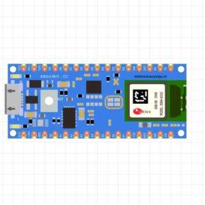 Arduino Nano 33 BLE fritzing