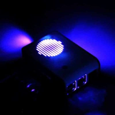 Raspberry Pi housing with LED fan