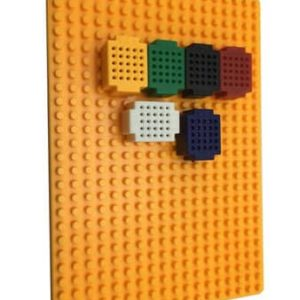 Mini breadboard plaat