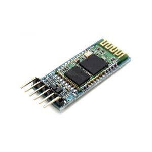 Hier zie je een HC-05 met 6 pins