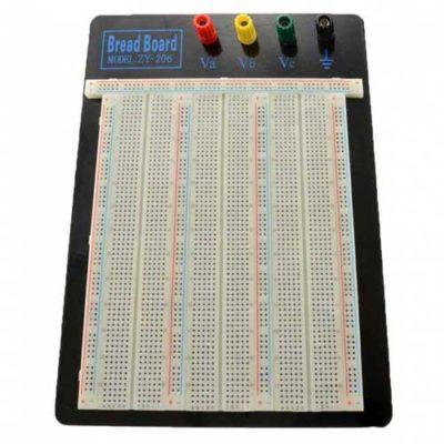 Breadboard board 2390 tie points zy206