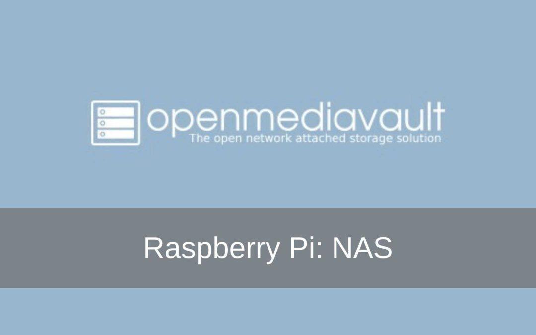 Raspberry Pi project: NAS – Open Media Vault