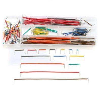 neu geformtes 140PCS Jumper Wire Kit Lötfreies Breadboard Jumper Kabelsatz