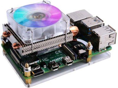 Tour de glace Raspberry Pi 4