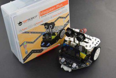 Maqueen Roboter mit Verpackung