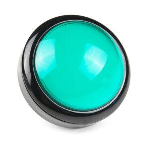 100mm arcade knop groen