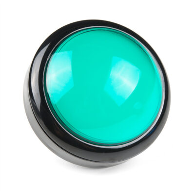100mm arcade button green