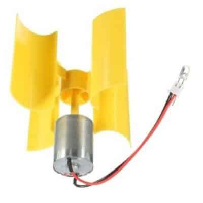 Groupe électrogène éolien vertical