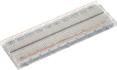 830 Bindepunkte Steckbrett transparent