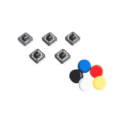 buttons with color