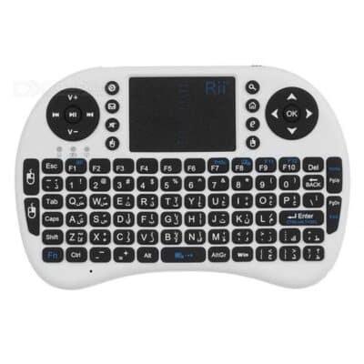 I8 Draadloos toetsenbord wit