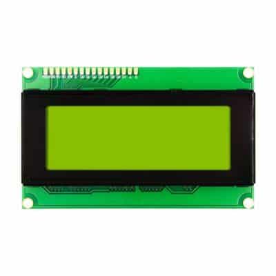 2004 LCD display Geel Groen