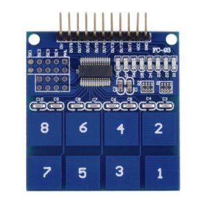 TTP226 8 kanaals touch sensor
