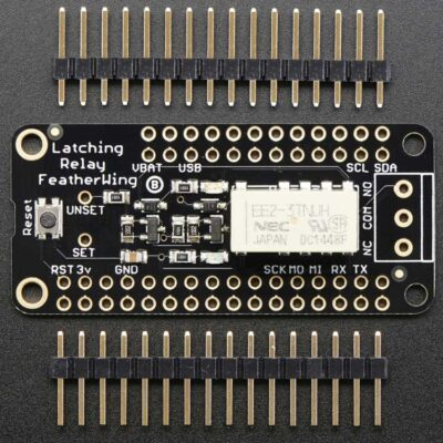 FeatherWing Relay Latching