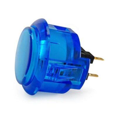 Arcade button 30mm blue