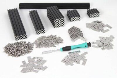 Kit de démarrage noir régulier MakerBeam