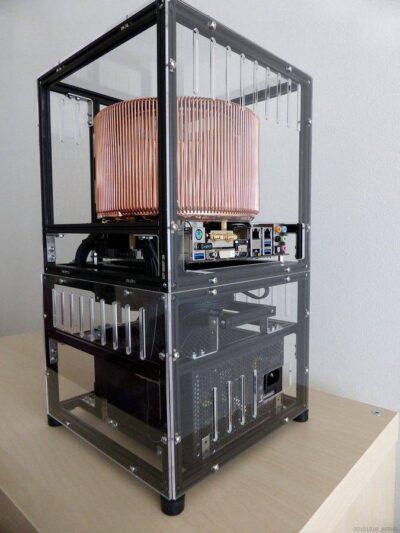 Exemple de kit de démarrage MakerBeam Regular Black