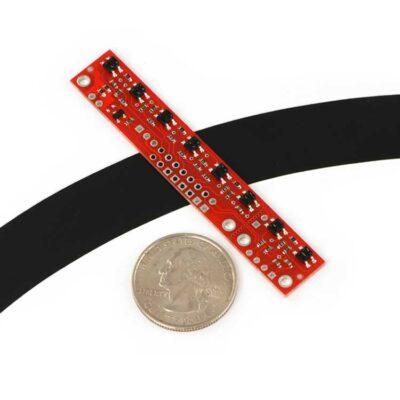 QTR-8A line tracking sensor