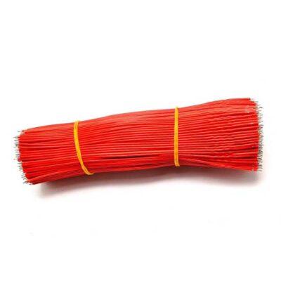 Fil à souder 24AWG 15cm Rouge