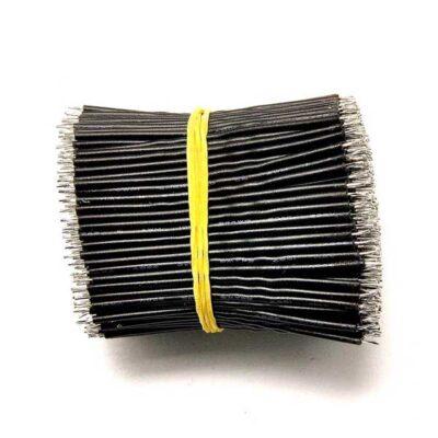 24AWG 5cm soldeerdraad zwart